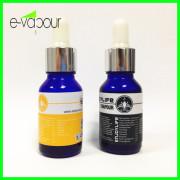 Blue Glass Essential Oil Bottle E Juice Bottle 15ml