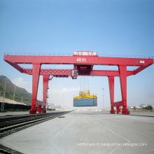 Grue à portique sur rail de 50 tonnes