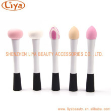 Women's Cosmetic Makeup Foundation Liquid Cream Concealer Sponge Lollipop Brush