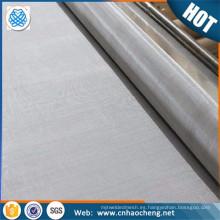 Malla de alambre de acero inoxidable 904L de resistencia a la corrosión Malla de filtro de acero inoxidable austenítico Super de la corrosión