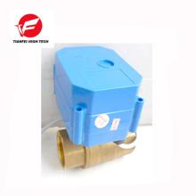 Vanne d'eau électronique 24v 110v DN32 laiton ss304 6nm CWX-60p