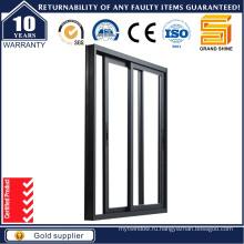 Новый дизайн двойного остекления Алюминиевые раздвижные окна