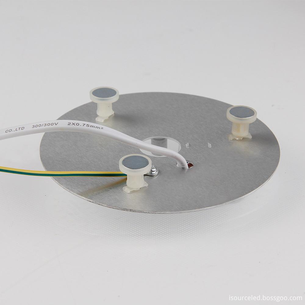 The opposite side of the 220V High lumen 9W LED ceiling light module