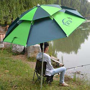 75cm-8k Double Layer Tent Camping Fishing Umbrella02