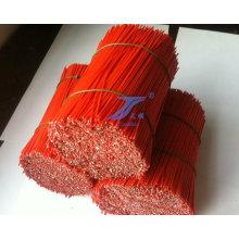 Revestido de PVC reta de alta qualidade cortados fios