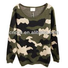 Camisola do uniforme do exército das mulheres da camuflagem 12STC0723