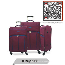 Superlight Fashion 4wheels Inside Trolley Travel Bag (KRQ1327)
