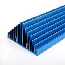 Acabamento de superfície para anodização de dissipadores de calor de LED