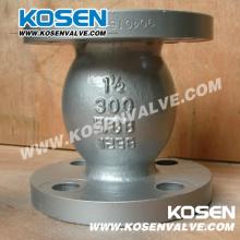 API Válvula de retención antideslizante de acero fundido