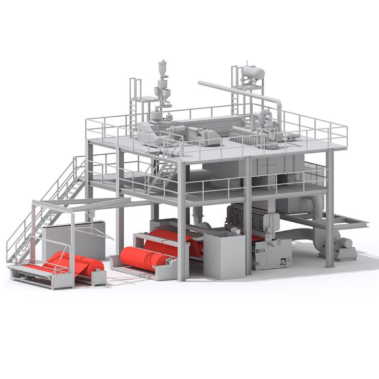 1600/2400/3200/4200MM S PP Spunbond Nonwoven Machines