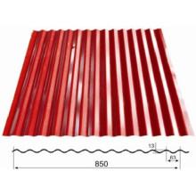 Dx 1100 Metal corrugado de la máquina de azulejos de techo