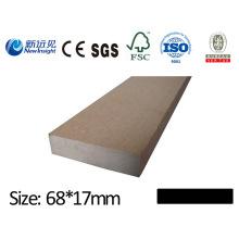 Hochwertige WPC wasserdichte Planke Board für Decking Bench Dustbin Zaun mit CE SGS Fsc ISO WPC Board Holz Kunststoff Composite Antiseptic Plank Lhma117