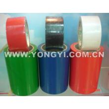 Cinta amonestadora del PVC 150um para la marca del piso