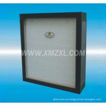 filtro HEPA de baja resistencia con mini plisada