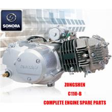 Zongshen C110-B Complete motoronderdelen Originele onderdelen