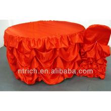 Gorgeous Ruffled Table Cloth,table cover,table linen for wedding
