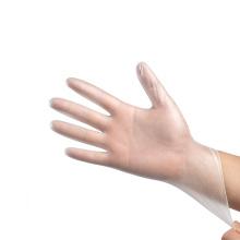 Sicherheitssterile PVC-beschichtete Handschuhe ohne Puder