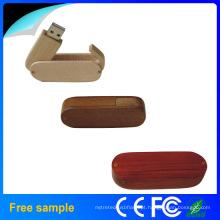Baratos USB Flash Drive de madeira (JW1045)