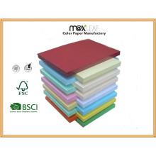 Placa de papel de cor (185GSM - 10 cores misturadas)