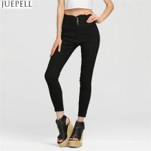 Europeus e americanos longas mulheres Trouse moda calças slim foi fino cintura lápis calças fábrica em Guangzhou