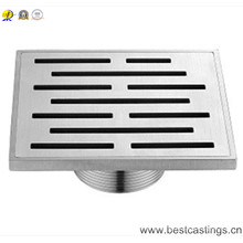 304 Type Stainless Steel Square Shower Drain