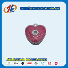 Promotional Gift Plastic Heart Shape Jewelry Ring Box Toy