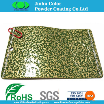 Antiek groen goud Effection poedercoatings