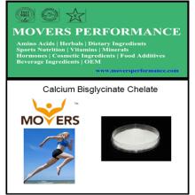 Chélate de bisglycinate de calcium de haute qualité avec le numéro de CAS: 35947-07-0