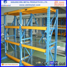 2014 New Style Custom Warehouse Equipment Drawer Racking / Sild Shelving