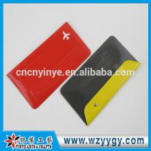 OEM custom pvc passport holder