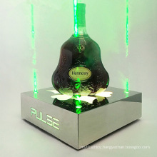 Champagne Wine Bottle LED Illuminated Display Stand