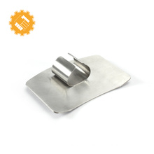 Kitchen cutting helper finger guard stainless steel finger protector for knife