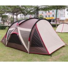 Außensonnenschutz-regendichtes kampierendes Strand-Doppelt-UVfamilienzelt