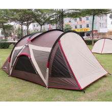 Parasol extérieur imperméable à l'eau camping plage double UV famille tente
