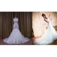 Блестящие Горячий Продавать Свадебное Платье Короткое