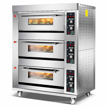 Industrial Bakery Equipment Electric Oven Commercial Baking Equipment Horno 1 2 3 Deck 1 2 3 6 9 Trays Gas Baking Oven