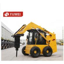 0.9t Skid Steer Loader with Multifunctional Attachments