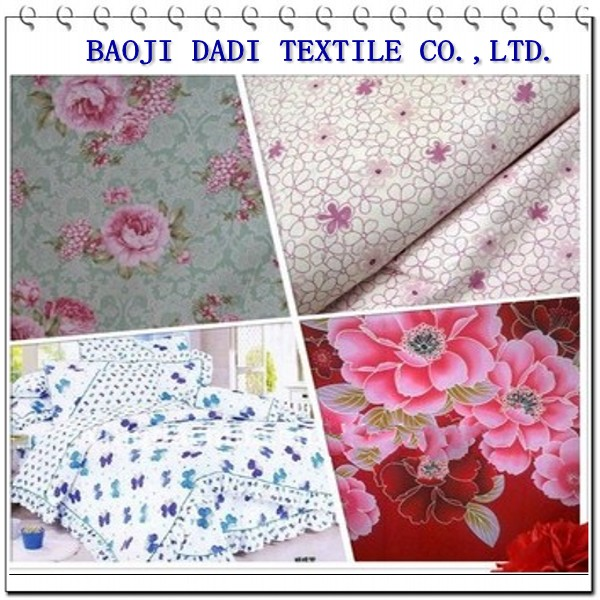 TC printed garment fabric