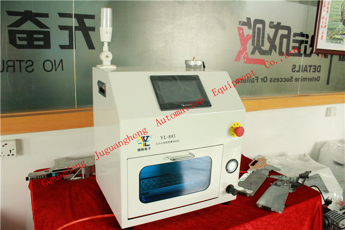 YL893 Nozzle Cleaning Machine with Dry and Clean Function (6)
