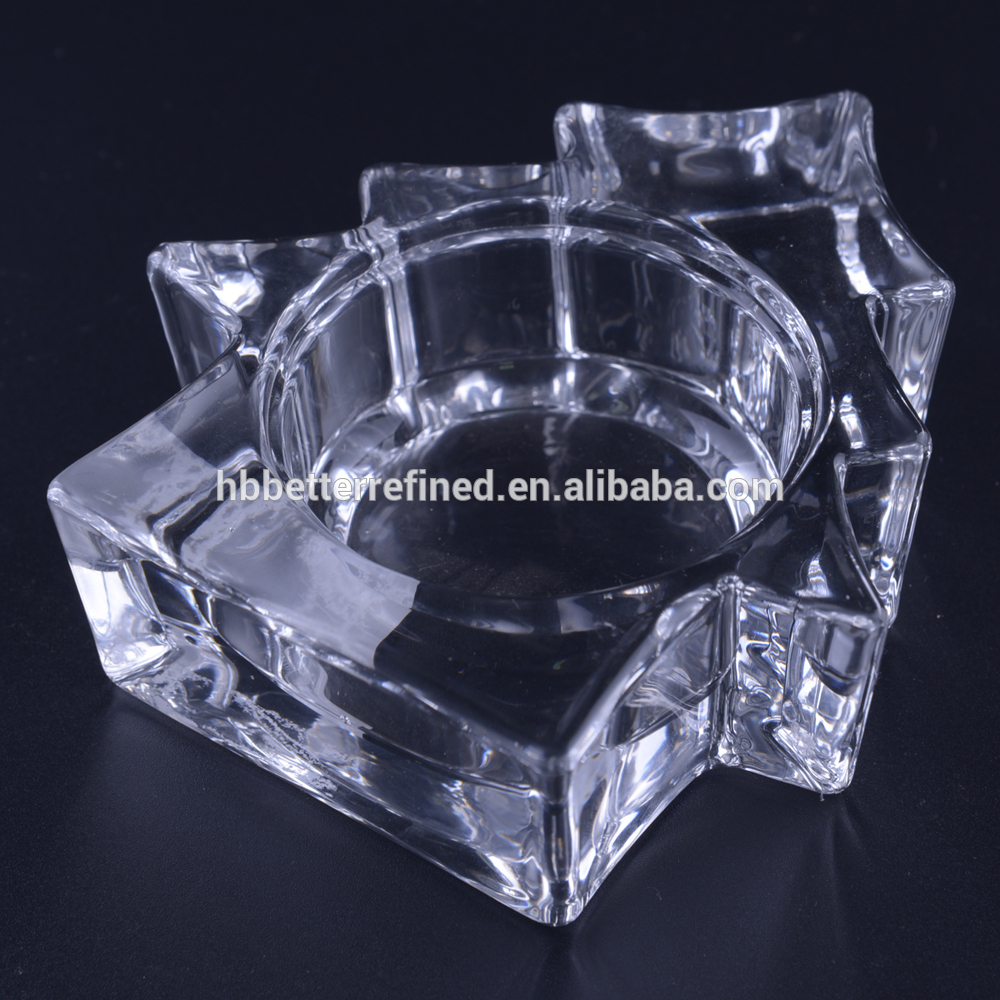 Crystal Tea Light Christmas Candle Holder1
