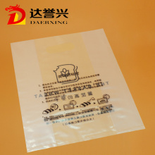 Clear Wholesale Handle Plastic Die Cut Bag