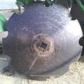 Cuchilla de disco de rastra con muesca comcave de acero al carbono de 18 pulgadas
