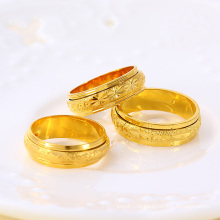 Xuping Neutral 24k Gold Plated Ring