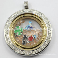 2015 Best Sale Stainless Steel Floating Locket Pendant