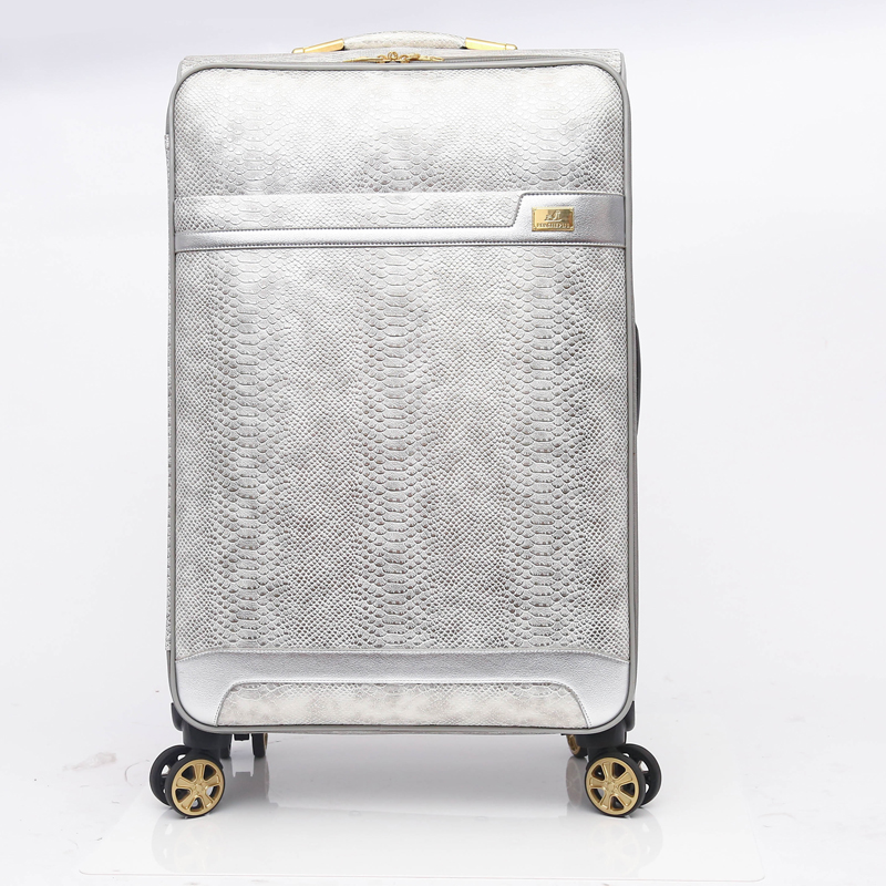 Popular new design pu luggage