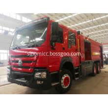 Howo Fire Fighting Truck 20CBM 10 Wheels