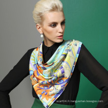 Vente en gros 2015 nouvel écharpe en soie à la mode 100%