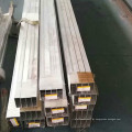 Tubo de alumínio quadrado oco personalizado