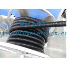 Chaîne de production de tube en plastique / tuyau en plastique faisant la machine / machine d'extrusion de tube en plastique