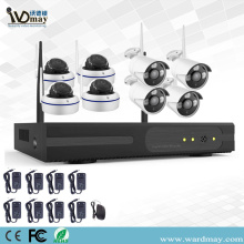 8CH 1.0 / 2.0MP Keamanan Nirkabel Wifi NVR Kit
